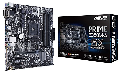 Asus AMD AM4 B350 mATX - Placa base