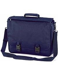 Quadra - Cartable sacoche sac porte documents - QD65 - mixte adulte - coloris bleu marine