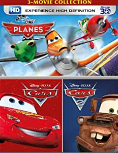 buy 3 movie collection planes cars and cars 2 dvd blu ray online at best prices. Black Bedroom Furniture Sets. Home Design Ideas