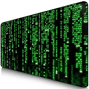 Sidorenko Gaming Mauspad I Mousepad I Fransenfreie Ränder I spezielle Oberfläche verbessert Geschwindigkeit und Präzision I rutschfest I violett