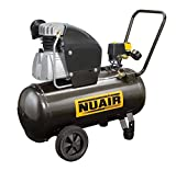 Compressore 50l Lt fc2,5/tech 10BAR Nuair - Made In Italy -