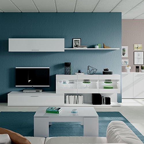 Habitdesign 036676BO - Mueble de Comedor, Mueble Salon con Leds, Medidas: 260...