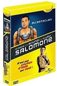 Coffret Bruno Salomone 2 DVD : N'est pas cochon d'Inde qui veut ! / Au Bataclan