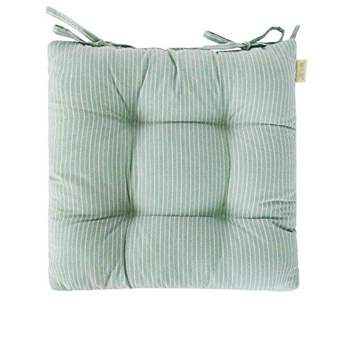 CUSHION HOME Tatami tatamimatte,Verdicken sie Quadratische Plüsch Stuhl Kissen Polster Boden-Kissen Wicker-sitzkissen-A 40x40cm(16x16inch) -