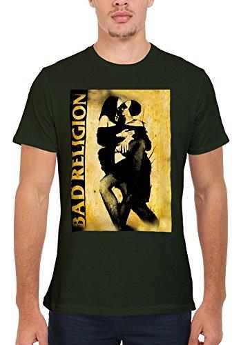 Bad Religion Kissing Nuns Novelty Men Women Damen Herren Unisex Top T Shirt Verschiedene Farben-S