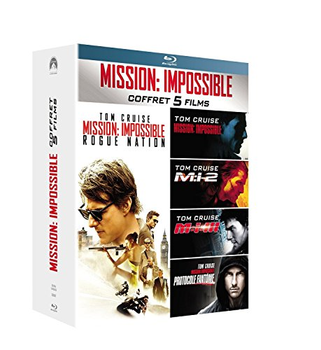 Mission : Impossible - L'intégrale des 5 films [Blu-ray]