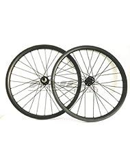 FidgetGear 29er Ruedas de Carbono MTB de 40 mm de Ancho para Bicicleta de montaña XD