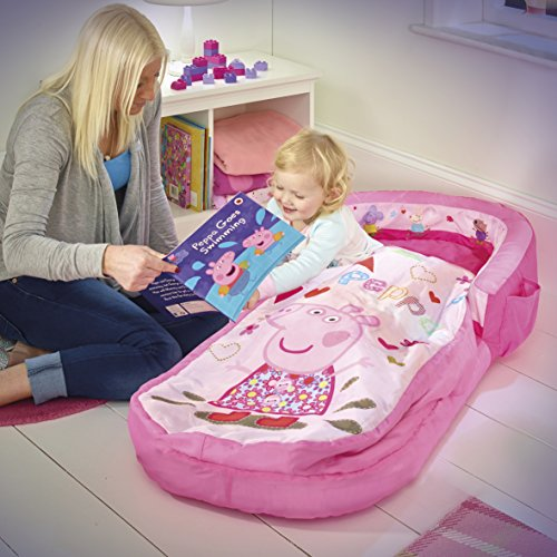 Image of Peppa Pig My First ReadyBed - Toddler Airbed and Sleeping Bag in one