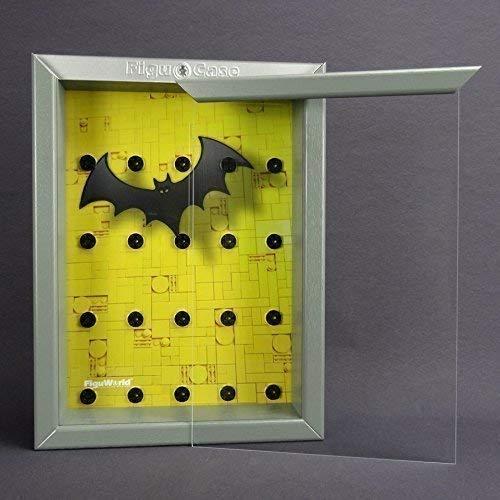 FiguCase Click System Vitrine für eure LEGO® Serie Batman 71017 grau (Batman Minifiguren Custom Lego)