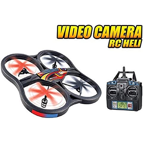 World Tech Toys Panther SPY Drone UFO Video Camera 2.4GHz RC Quadcopter by World Tech Toys