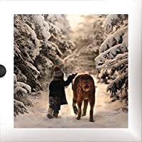 Luxury Christmas Cards (PH1072) – Best Friends – Confezione di 16 carte