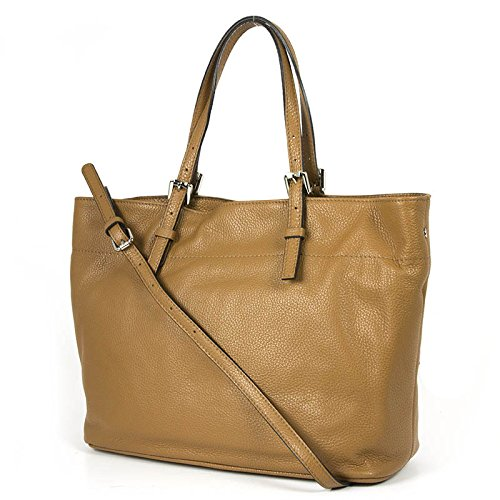 Shopping bag in pelle , con tracolla sganciabile, Gianni Chiarini Made In Italy