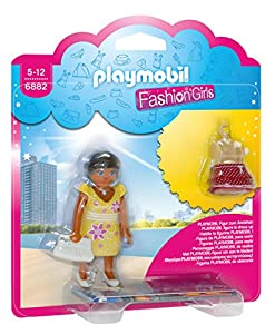 Playmobil Tienda de Moda- Summer Fashion Girl Playmobil Figura con Accesorios, (6882)