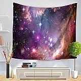 Tapisserie Sterne Universum Mond Drucken Wandbehang Dekorativer Stoff , 150*200cm , b
