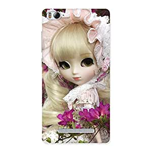 Stylish Angel Look Doll Back Case Cover for Xiaomi Mi4i