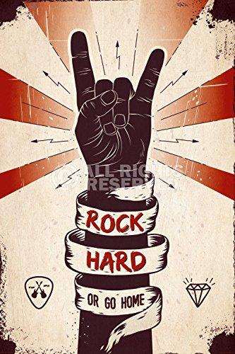 REINDERS Rock Hard - Poster 61 x 91,5 cm