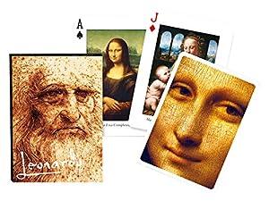 "Piatnik 1657""Leonardo da Vinci Juego de Cartas (55-Piece)"