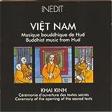 Viêt nam. musique bouddhique de huê. b...