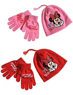 Set cappello e guanti Disney Minnie