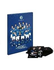 '10x Calendrier de l'Avent XXL FC Schalke 04Team 2015/2016incl. Autographe Jeu de cartes