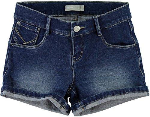 Name it Mädchen Jeans Shorts Hotpants NITTAIDA SLIM DENIM SHORTS 13131278 medium blue denim Gr.146