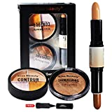Best Face Contours - adbeni Kiss Beauty Face Contour Kit with Kajal Review
