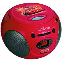 Lexibook RCD102D Exclusivo Radio CD Disney Cars