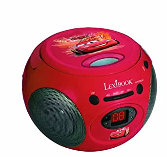 Lexibook - RCD102DC - Radio Lecteur CD Disney Cars
