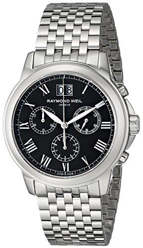 raymond-weil-hommes-de-4476-st-00200tradition-affichage-analogique-swiss-quartz-montre-argent
