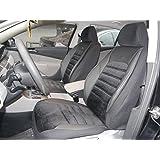 Cubiertas para asientos de automóvil Peugeot Bipper Tepee no2 negro protectores juego completo ara los asientos delanteros y traseros fundas de asiento