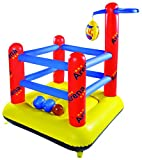 Jilong JL097013NPF - Saltador hinchable ring de boxeo, Sports Arena, 155 cm x 155 cm x 189 cm