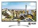 LG 32UD99 Monitor da 32' 4K UltraHD LED IPS HDR 10, 3840 x 2160, AMD FreeSync, Multitasking, Display Port, 2 HDMI, USB-C, Altezza, Inclinazione e Rotazione Regolabili