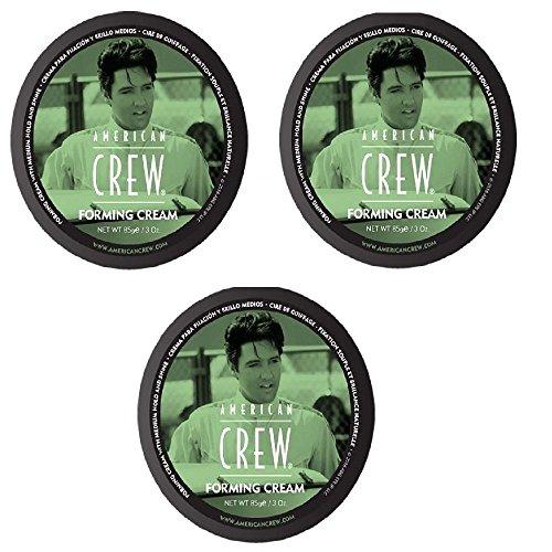 AMERICAN CREW Forming Cream 3 x 85g = 255g (Gel Glanz Paste)