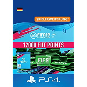 FIFA 19 Ultimate Team – 12000 FIFA Points | PS4 Download Code – deutsches Konto