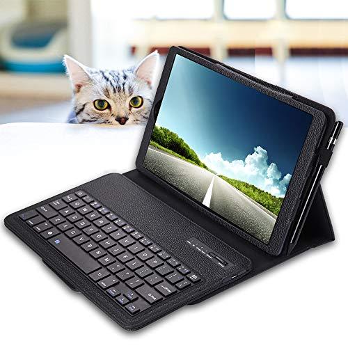custodia tastiera tablet 10.1 REAL-EAGLE Tastiera Custodia per Galaxy Tab A 10.1 2019 SM-T510/T515 (Inglese QWERTY)
