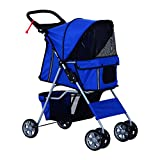 PawHut Dog Travel Stroller