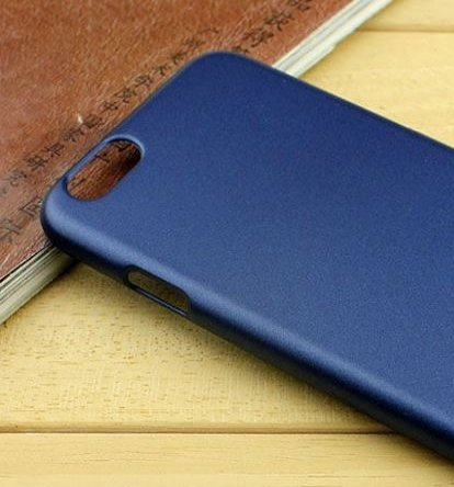 iphone 6 slim back case cover - labrador® lightweight fibre slimlab designer series - Matte effect smudge free with Labrador® Retail Packaging (Royal Blue)