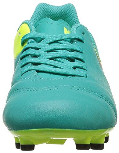 Nike Jr Tiempo Legend Vi Fg Scarpe da calcio allenamento, Unisex bambini Verde (Clear Jade/black/vert Volt)