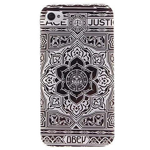 Jepson Apple Iphone 4 / 4S (3.5 pouces) coque , Ultra Mince Etui Matériel De TPU de téléphonie mobile De Silicone Pour Bonne protection pour votre téléphone , idéal pour protéger votre téléphone ,