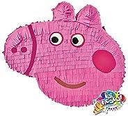 Pignatta a tema Peppa pig (pentolaccia, piñata) per feste di compleanno a tema. Un divertente gioco per far gi