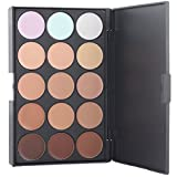 KOLIGHT Professional 15 Color Cream Concealer Camouflage Foundation Makeup Palette Contour Face Contouring Kit