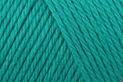 Hatschek Simply Soft Acrylic Aran Strickwolle Garn 170g -9770 Cool Grün -