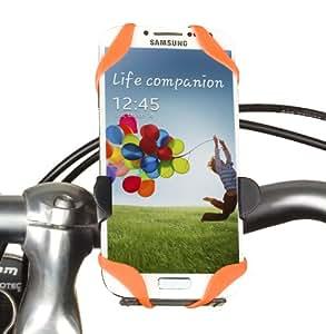 Yayago YUBA 1224-W X-Style Fahrradhalter/Motorradhalter für Samsung Galaxy S4 i9500