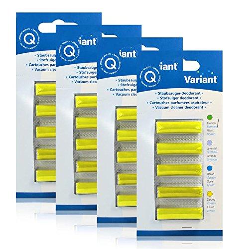 4x Variant Staubsauger Deodorant Zitrone für Ihren Staubsauger