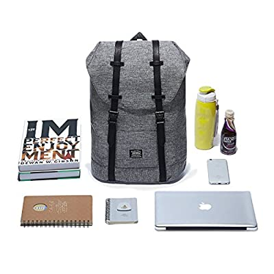 "KAUKKO Mochila Casual Mochila de Estudiante Ligero 16"" Laptop Bolsa al Aire Libre para Viajar/Deporte/Cámping de Zhibiao Huang"