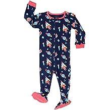 Pijama De 1 Pieza para Niños con Suelas Y Diseño De Cohete Espacial (6 Meses