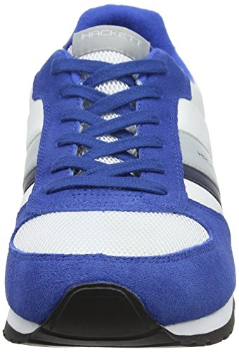 Hackett London Mens Winfield Scarpe Da Corsa Multicolore (blu / Bianco)