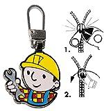 Unbekannt Zipperanhänger -  Bob der Baumeister  - Anhänger für Reißverschluss - Zipper - für Kinder / Mädchen & Jungen - Reißverschlußanhänger - Jacken Reißverschlüss..