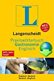 UniLex Fachwörterbuch Gastronomie Langenscheidt: Deutsch-Englisch / Englisch Deutsch