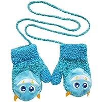 SAMGU Karikatur warme Vlies Säuglingsbaby Jungen Mädchen Winter warme Handschuhe Neugeborene Fäustlinge style 3